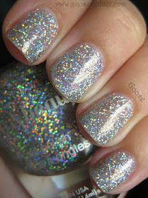 Goose's Glitter: Love & Beauty - Silver: The Blingy-est Polish I Own