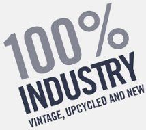 100% Industry INDUSTRY is a new interiors shop located on Smock Alley, Essex St. West, just at the bottom of Cow's Lane in Temple Bar. The shop is an exciting emporium of industrial, vintage, upcycled and new things. We sell furniture, lighting, artwork, textiles and a huge range of accessories.
