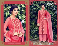 Beautiful hot pink Designer suit more inquiry please what's app me+918128939797 😊😊😊 #salwarsuits