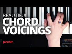 Create Beautiful Chord Voicings On The Piano Le Piano, Piano Music, Piano Jazz, Music Music, Music Notes, Sheet Music, Singing Lessons, Music Lessons, Piano Quotes