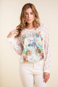Floral Tops, Detail, Women, Fashion, Moda, Top Flowers, Fashion Styles, Fashion Illustrations, Woman