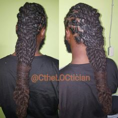 Big locs, men's loc styles, Locs, locs with color, ombre, wedding hair, loc styles, updos, loc updos, nice locs, beautiful locs, beautiful hair, braids, natural hair, loctician in Jacksonville Florida, best styles for everyday wear, hair art, loc art, not dread locs, Ciara the LOCTICIAN, CtheLOCtician.com, @CtheLOCtician, twist