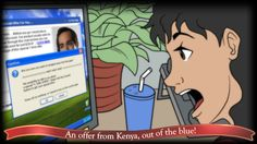 An offer from Kenya, out of the blue