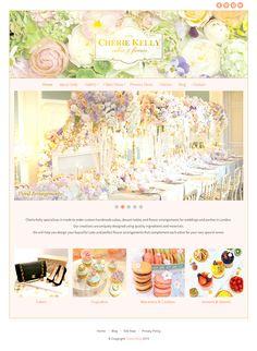 Using Bluchic Feminine WordPress Theme http://www.bluchic.com/shop/wordpress-themes/kelly-theme