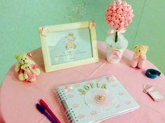 Caderno de assinaturas - Ursa Princesa
