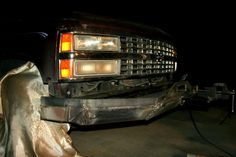 Front Bumper 1993 93 Chevy Suburban :picture by diywp - Photobucket
