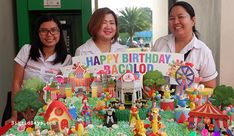 Merzci Pasalubong is one of the biggest supporters of the MassKara Festival in Bacolod City. Its' one of the most famous Bacolod pasalubong brands. Themed Birthday Cakes, Happy Birthday, Masskara Festival, Light Up The Candle, Bacolod City, Silver Anniversary, Events, Happy Brithday, Urari La Multi Ani