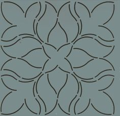 Heirlooms Forever - Continuous Line Quilting Stencils Quilting Stencils, Quilting Designs, Quilt Boarders, Tin Can Lanterns, Fabric Finders, Embroidery Supplies, Heirloom Sewing, Easy Quilts, Free Motion Quilting