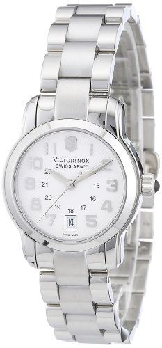 Victorinox Swiss Army Womens 241053 Vivante Silver Guilloche Dial Watch >>> Visit the image link more details.