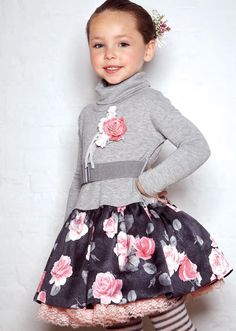 ALALOSHA: VOGUE ENFANTS: Monnalisa FW12 BLUE, ROSE and PINK
