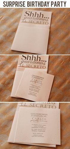 Invitaciones De Cumpleaños De 50 Años Para Descargar Al ...