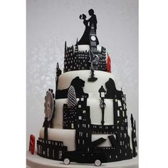 London love cake- I wouldn't do it, but it is definitely unique!