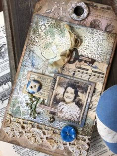 Stacy Hutchinson: The Key to Inspiration Fun Crafts, Paper Crafts, Shabby, Nest Design, Stampers Anonymous, Atc Cards, Handmade Tags, Class Projects, Vintage Tags