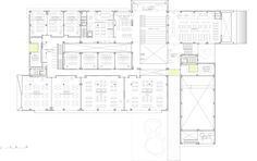 The #British CollegeBahrain - University Campus in Middle East   by SI architects - First floor plan