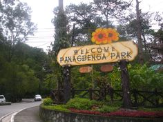 The Panagbenga Park welcomer on our way to Kennon road.
