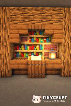 Minecraft Farm, Cute Minecraft Houses, Minecraft Survival, Minecraft Projects, Minecraft Designs, Minecraft Stuff, Minecraft Ideas, Minecraft Furniture, Funny Disney