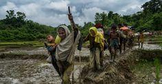 #MONSTASQUADD Desperate Rohingya Flee Myanmar on Trail of Suffering. 'It Is All Gone.'