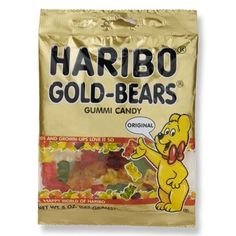 Bears...the Yummy Kind. Haribo Gummi Bears
