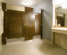 Ironwood Manufacturing Door Lite Toilet Partition With Frosted Acrylic Insert Door Lite Toilet