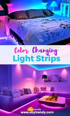 Light up your home with with the Color Changing Light Strips. These awesome light strips will add color and style to every room in your home. Remote controlled strips that allow you to choose from 16 colors and 4 flashing modes. Led Light Strips, Led Strip, Rgb Red, Rattan Garden Furniture Sets, Baroque Furniture, Color Changing Lights, Remodeling Mobile Homes, Strip Lighting, House Rooms