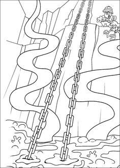 Desenhos para colorir para crianças. Desenhos para imprimir e colorir KND: A Turma do Bairro 33