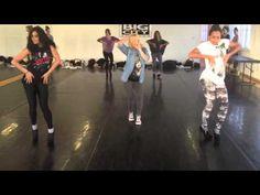 Kiss The Stars Rehearsal  Danielle Peazer Dancing