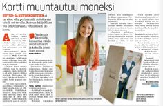 An article about in a newspaper Itäväylä. Newspaper, Advertising, Design, Magazine