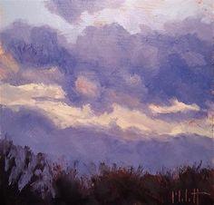 "Daily+Paintworks+-+""Contemporary+Impressionism+Original+Daily+Oil+Painting+November+Sky+Series""+-+Original+Fine+Art+for+Sale+-+©+Heidi+Malott"