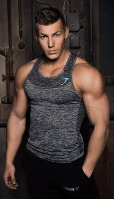 Avant Seamless Tank Top - Melanite #Gymshark