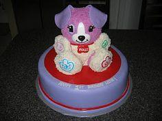 Leapfrog My Pal Violet Cake...for Mystique