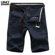 Max Waist 50 Inch 127 Cm Shorts Men 2016 Summer Fashion Mens Shorts Casual Cago Bermuda Trousers Plus size 44 46 48