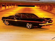 1959 Chevrolet Impala.  Possibly my favorite car.
