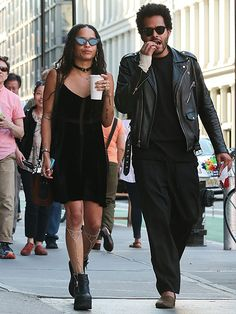 Star Tracks: Monday, July 20, 2015 | STREET CHIC | Zoe Kravitz and boyfriend Twin Shadow (nèe George Lewis Jr.) are one cool couple as they walk through N.Y.C. on Thursday.