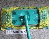 Crochet Swiffer Cover.