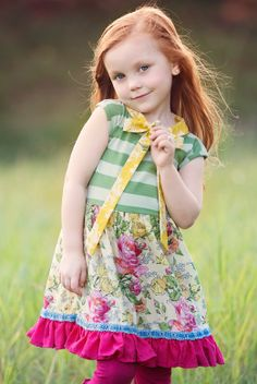 Persnickety Clothing, Fun To Be One, Green Dress, Blue Stripes, Blue Green, Harajuku, Raspberry, Kids Outfits, Cute