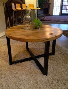 Hey, I found this really awesome Etsy listing at https://www.etsy.com/listing/175580391/reclaimed-barn-wood-round-coffee-table