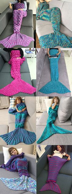 6aa52cc543d 230 Best Knitted Mermaid Tail Blanket images