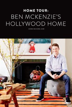 Step inside the bachelor pad of Gotham and The OC's Ben McKenzie.