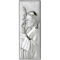 Dewocjonalia - obrazek srebrny papież Jan Paweł II Female, Art, Art Background, Kunst, Performing Arts, Art Education Resources, Artworks