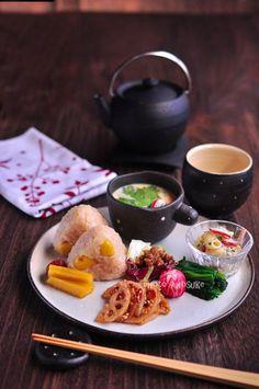 Japanese food / 銀杏茶飯と茶碗蒸しのワンプレート | Beautiful Japanese Style