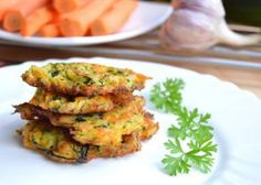 Fotografie článku: Recept na cuketovo-mrkvové placičky krok za krokem