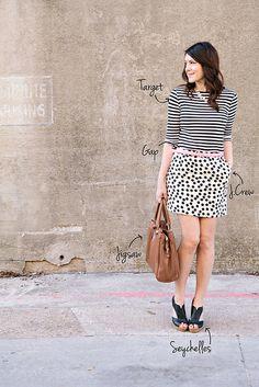 stripes+polka dots