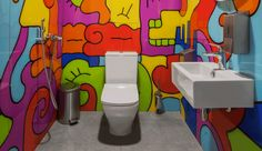 Who knew the washroom could be such a haven for creativity and inspiration?