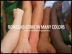 Puertorricans come in all colors actually. Just like everybody else from any country.