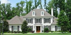 #654043 - Two story 5 bedroom, 4.5 bath french traditional style house plan : House Plans, Floor Plans, Home Plans, Plan It at HousePlanIt.com