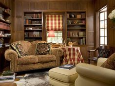 cozy home library this cozy home library is a comfortable spot to read ...