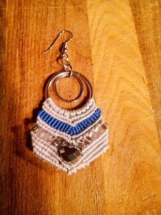 Macramè  and beads new earrings