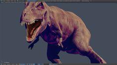 Uma Arte Tiranossauro Rex