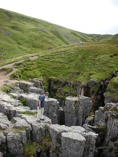 England Travel Inspiration - The Buttertubs, Yorkshire Dales. Buttertubs pass is a key feature of day one of Le Grand Depart, le Tour Yorkshire 2014 Yorkshire England, Yorkshire Dales, North Yorkshire, Visit Yorkshire, Cornwall England, England And Scotland, England Uk, Oxford England, London England