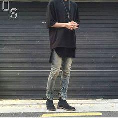 #OutfitSociety via @introfashion Presents @e.u.i blvck vibes:  YSMRS2 Tee and…